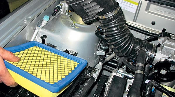 Замена фильтров на авто