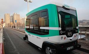 По улицам Парижа начали курсировать беспилотные автобусы